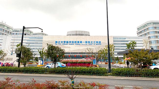 浙一医院之江院区挡烟垂壁案例